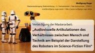 """Audiovisuelle Artikulationen des Verhältnisses ... - Wolfgang B. Ruge"