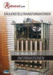 TEchnischE INFORMATIONEN - Ruhstrat GmbH