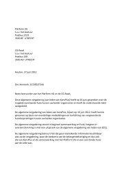 agendapunt 7 – Brief 3-1583-bestuur-platform-VG-CG ... - KansPlus