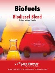 Biodiesel Blend Test Method Catalog - Cole-Parmer