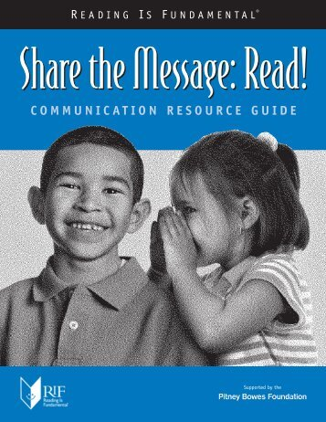 COMMUNICATION RESOURCE GUIDE - Reading Is Fundamental