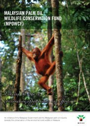 malaysian palm oil wildlife conservation fund (mpowcf)
