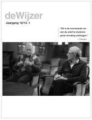 deWijzer 1 2012 - NFK