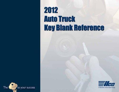 NEW 1984-1989 Toyota 4 Runner Key blanks blank