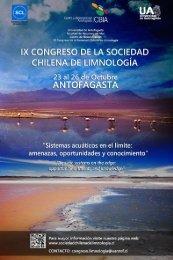 ix congreso de la sociedad chilena de limnología - Universidad de ...