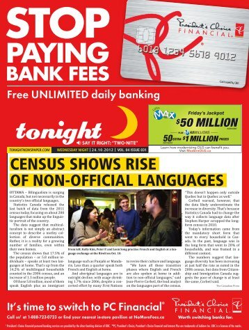 PAYING - tonight Newspaper