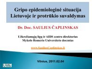 Pranešimas - Saulius Čaplinskas