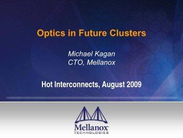 Mellanox Update GA Tech - Hot Interconnects