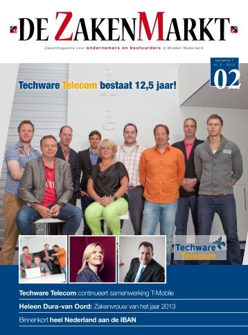 Techware Telecom bestaat 12,5 jaar! - jez media services