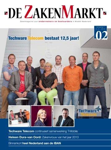 Techware Telecom bestaat 12,5 jaar! - jez media services
