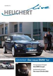 Der neue BMW 1er - Autohaus Heuchert