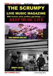 September 2012 - Mag 4 Live Music