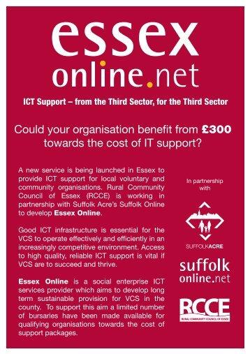 Bursary Flyer - Suffolk Online