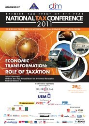 NTC Brochure Front.ai - Chartered Tax Institute of Malaysia