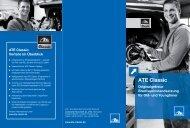 ATE Classic: Vorteile im Überblick