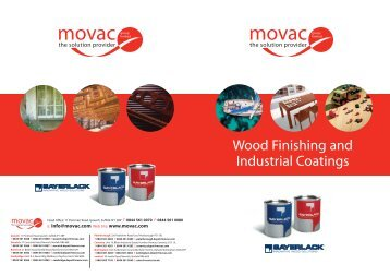 Wood Finishing and Industrial Coatings - Movac Group Limited