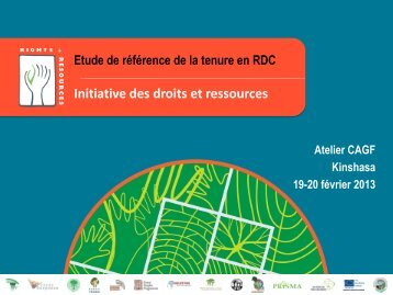 5 thèmes abordés - Rights and Resources Initiative