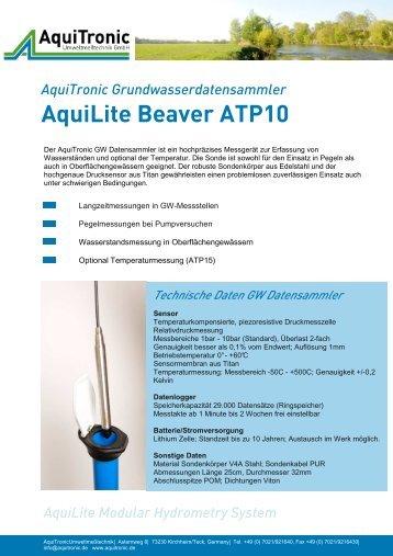 AquiLite Beaver ATP10 - Aquitronic