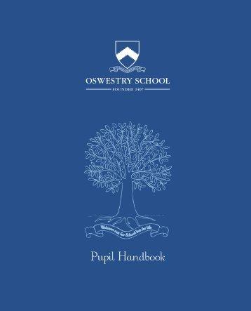 Pupil Handbook - Oswestry School