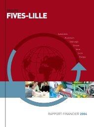 Télécharger le rapport annuel 2004 - Fives