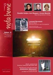 Osvaldo Golijov, Ami Maayani, Ursula Mamlok Leonard Bernstein ...