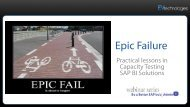 Epic Failure - EV Technologies, Inc.
