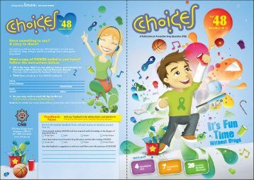 October 2011 Choices Magazine for Teens - Central Narcotics Bureau