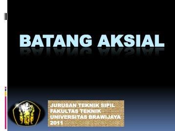 BATANG AKSIAL - Universitas Brawijaya