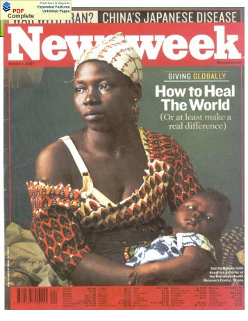 Khrc hits frontpage of Newsweek
