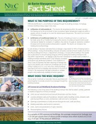 Air Barrier Management Fact Sheet - Northwest Energy Efficiency ...