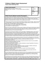 road safety consultation cria 2008.pdf - Scotland's Commissioner for ...