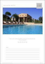 Finca near Artá - Ref. 01-51 - Luxury Holidayhomes on Mallorca