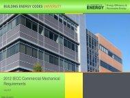 Presentation Slides - Building Energy Codes