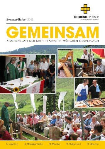 Ausgabe 7 - Sommer/Herbst 2011 - Christus Erlöser