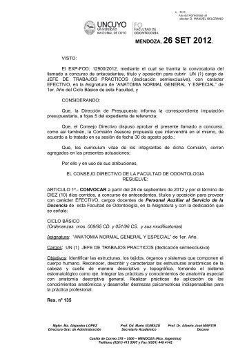 CATEDRA DE ANATOMIA NORMAL GENERAL Y ESPECIAL ...