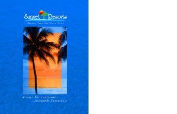 Sunset Resorts Brochure - Caribbean Tour & Cruise