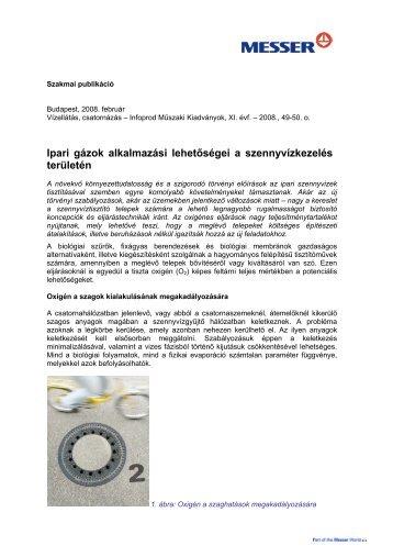 Ipari gázok alkalmazási lehetőségei a szennyvízkezelés ... - Messer