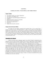 69 CHAPTER 6 AGGREGATE SUPPLY: WAGES, PRICES, AND ...