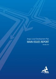 Angus Local Development Plan - Main Issues Report - Angus Council