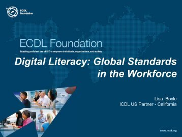 Digital Literacy - Ccaecalifornia Council for Adult Education