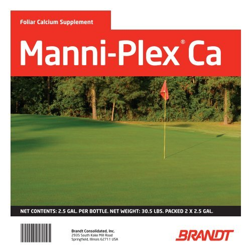 Manni-Plex Ca - Brandt