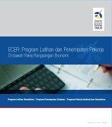 ECER: Program Latihan dan Penempatan Pekerja