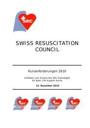 SWISS RESUSCITATION COUNCIL - reanow.ch
