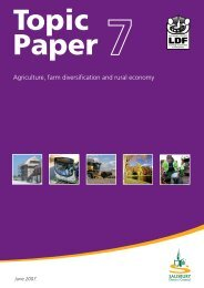 Agriculture, farm diversification and rural economy - Wiltshire Council