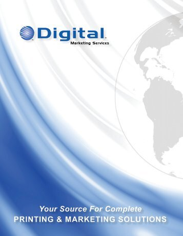 Check out our capabilities - Digital Marketing Services
