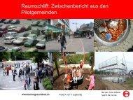 I. Uehlinger, Berner Gesundheit: Projekt Raumschliff - VOJA