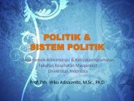 POLITIK & SISTEM POLITIK - Blog Staff UI - Universitas Indonesia
