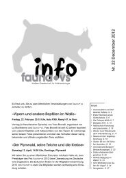 Bulletin Nr 22 deutsch - faunavs.ch » Aktuell