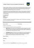 Biometric Consent Letter - The Chase Technology College - Page 5