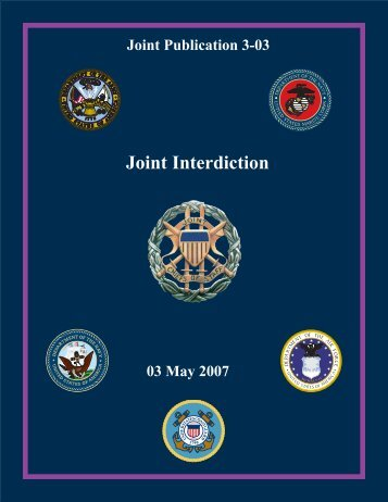 JP 3-03 Joint Interdiction - Integrated Defence Staff